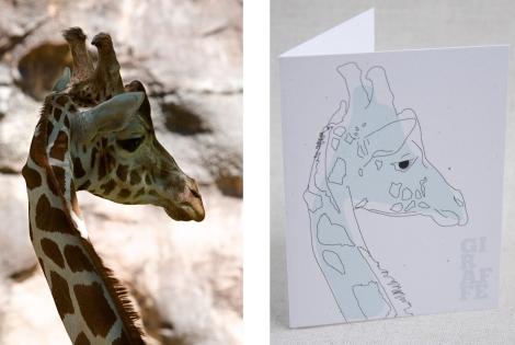 giraffe&card