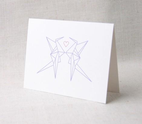 Paper Crane Heart